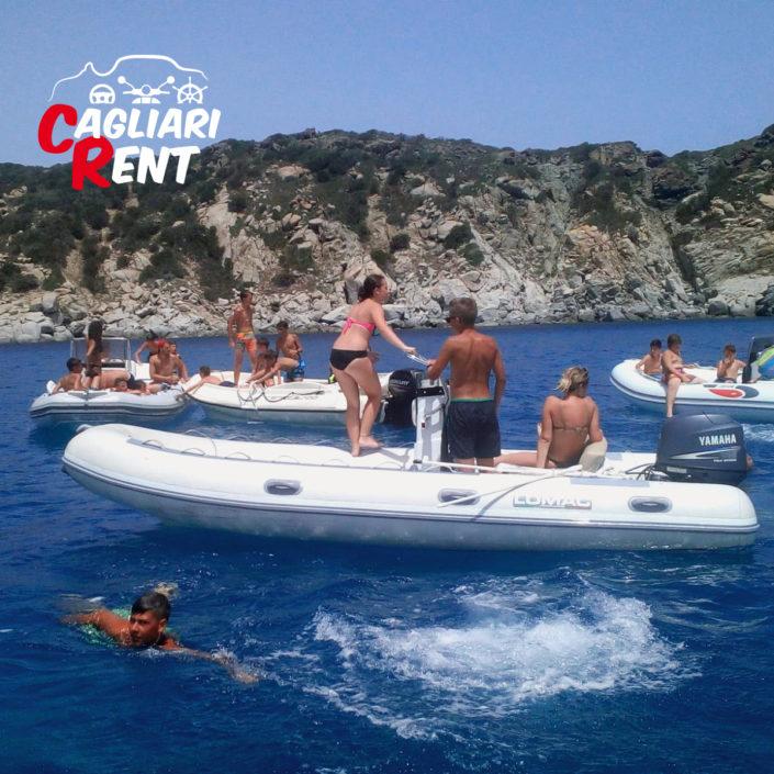 Per tutto OTTOBRE OFFERTA NOLEGGIO Gommoni 40cv a 100€ al giorno | Cagliari Rent - Marina di Capitana